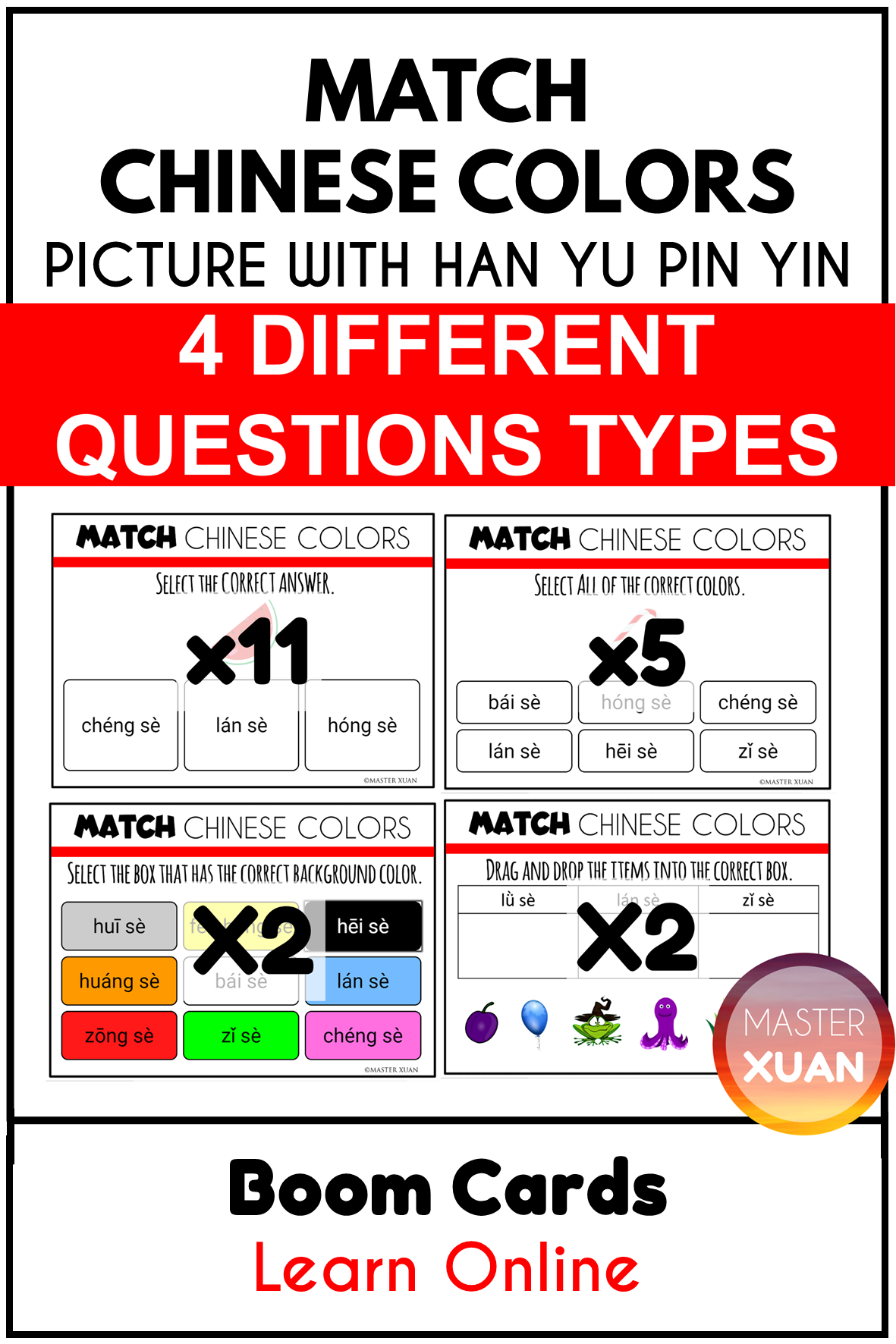 Pin On Chinese Worksheets By Master Xuan