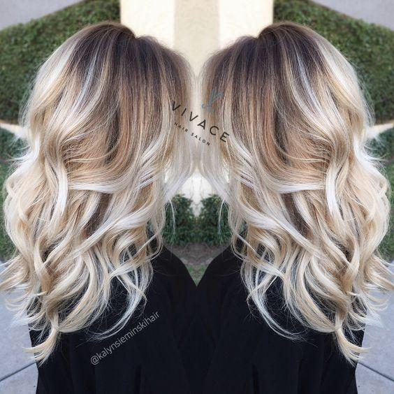 Balayage Hair Color Blonde   Hair styles + Hair Cuts Inspiration ...