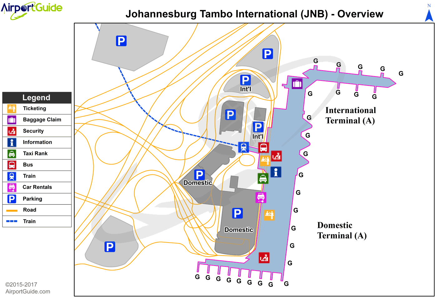 Johannesburg OR Tambo International (JNB) Airport