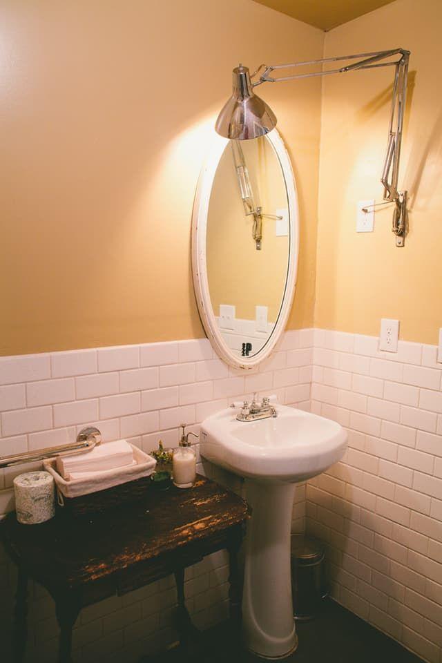 Charming Small Windowless Bathroom Ideas Part - 14: Small Bathroom Ideas: 6 Room Brightening Tips For Tiny, Windowless Bathrooms