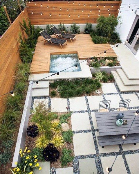 Top 70 Best Modern Patio Ideas Contemporary Outdoor Designs Small Backyard Landscaping Backyard Patio Designs Backyard