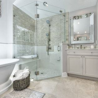 elegant master bath in 2020 | bathrooms remodel, luxury