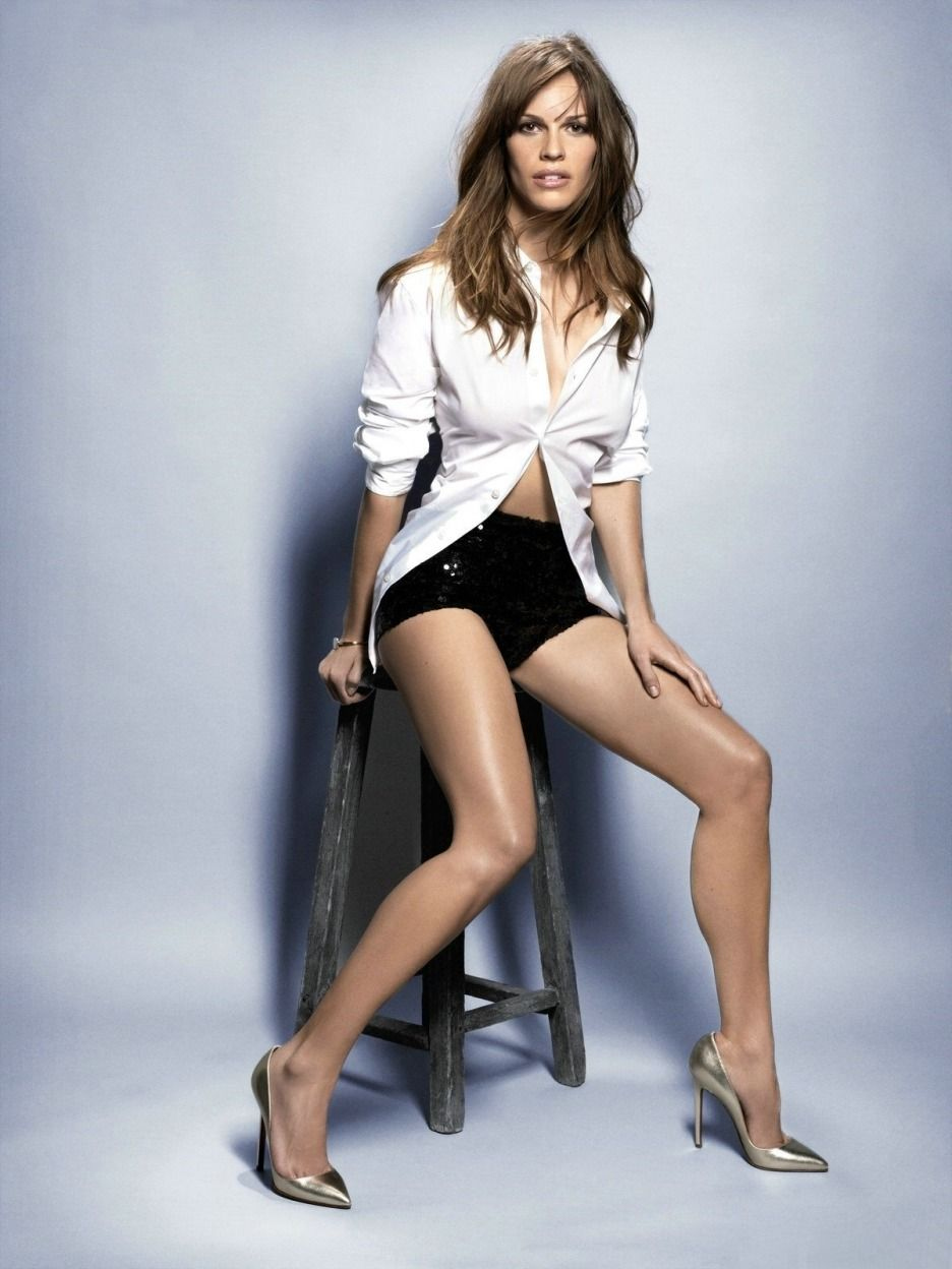 P.S. We Love Hilary Swank (8/10) | To prepare for her role in her second