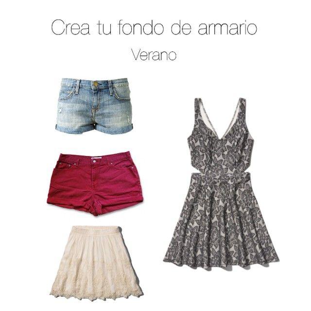 5. Básicos de verano #creatufondodearmario Short,falda y vestido y perfectas todo el verano #fashionblogger #blogger #instablog #fashion #tagsforlike