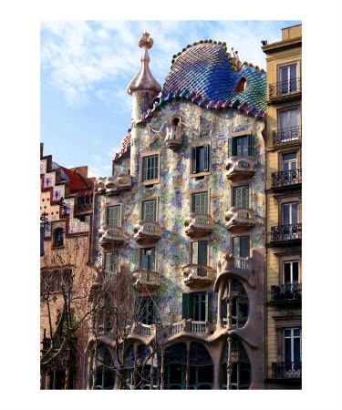 To This Modern Day Adaptation Of Barcelona Casa Batllo Adds A Dash Of A Gut And Skeletal Organic Architectural Stru Gaudi Architecture Unusual Buildings Gaudi