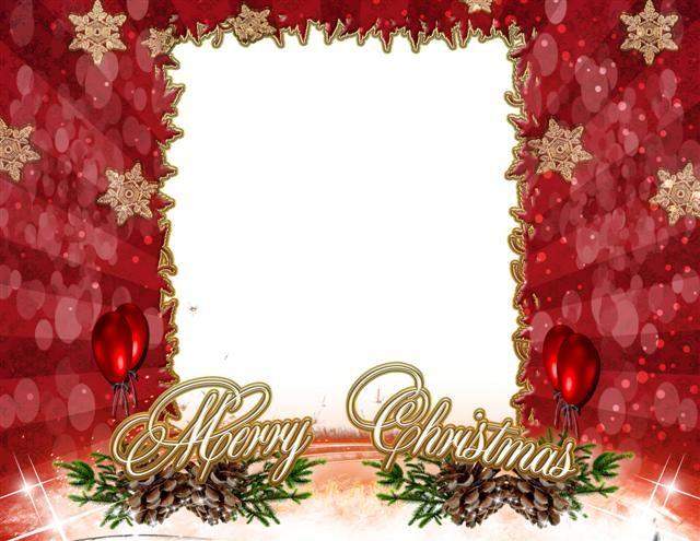 Marcos Para Decorar Fotos Hermoso marco con motivo navideño en png