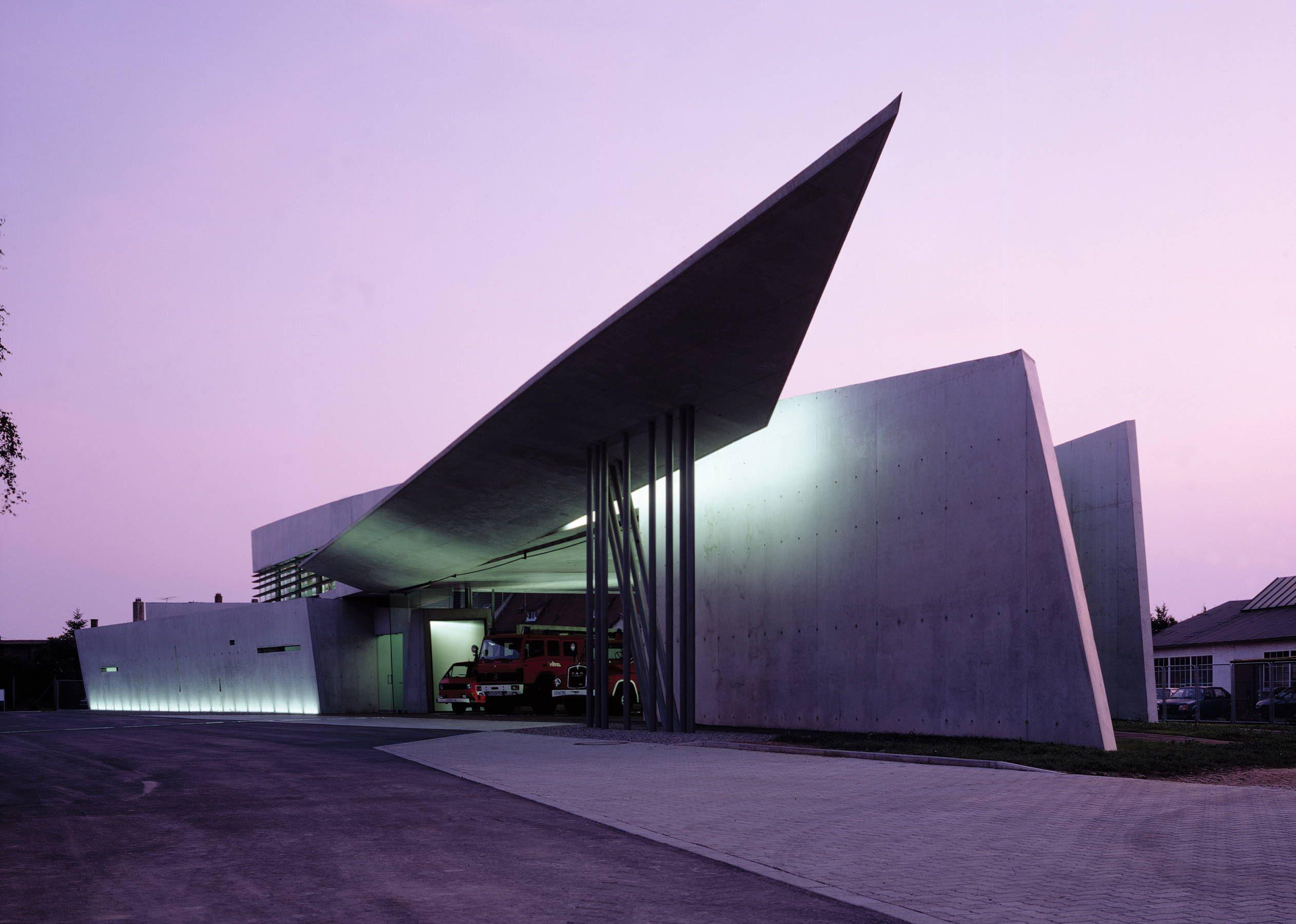 Vitra Fire Station - Architecture - Zaha Hadid Architects | Other ...