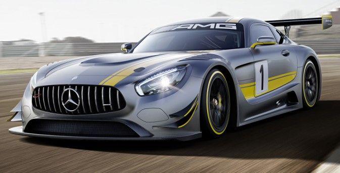 Mercedes-AMG GT3 – Les premières images