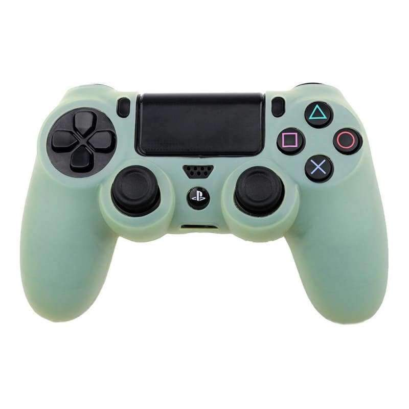 Lite Green Ps4 Controller Silicon Cover Ps4 Controller Green