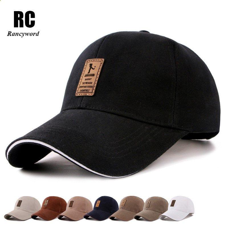 Rancyword Men Cotton Casual Golf Hats Men Snapback Cap Casquette Bone Gorras Hot Sale Cheap Brand Baseball Caps Rc105 Gorras Snapback Gorras Moda De Muchacho