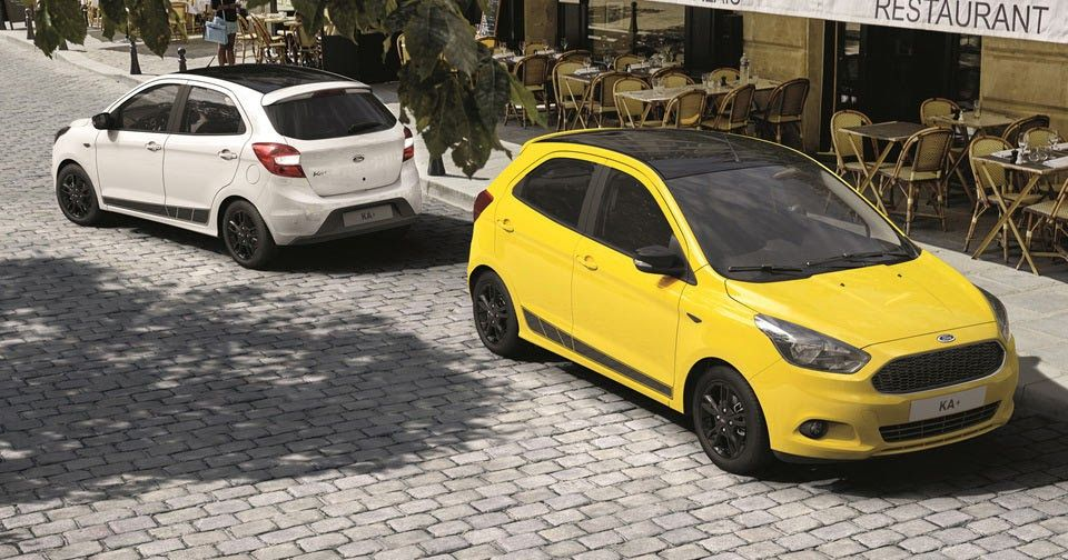 Ford Ka Tries To Get Funky With New Color Edition Carros Auto Vans