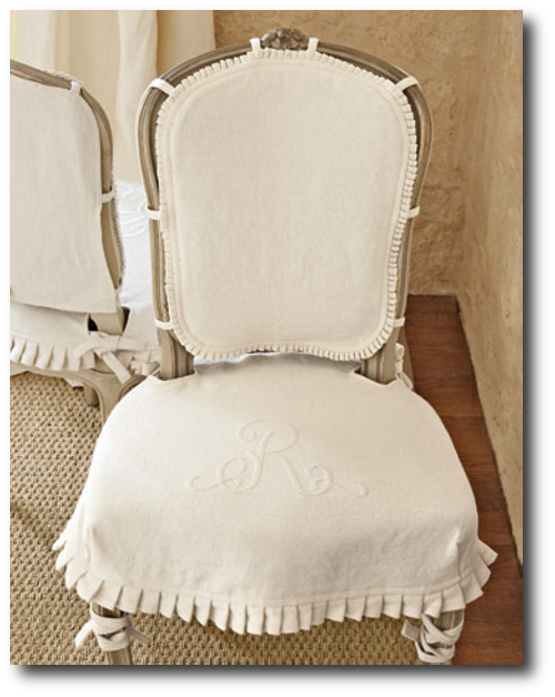 Linen Slipcovers From Country Living Magazine Cording