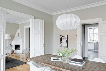 Molduras de madera para decorar paredes buscar con - Poner chimenea piso ...