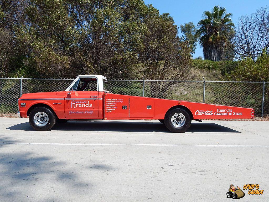 Spud 39 S Garage 1971 Chevy C30 Ramp Truck Funny Car Hauler