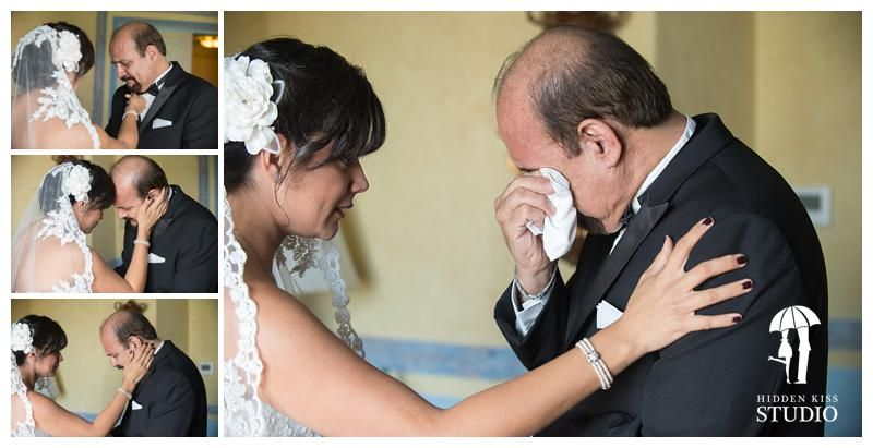 Father Of The Bride And Crying