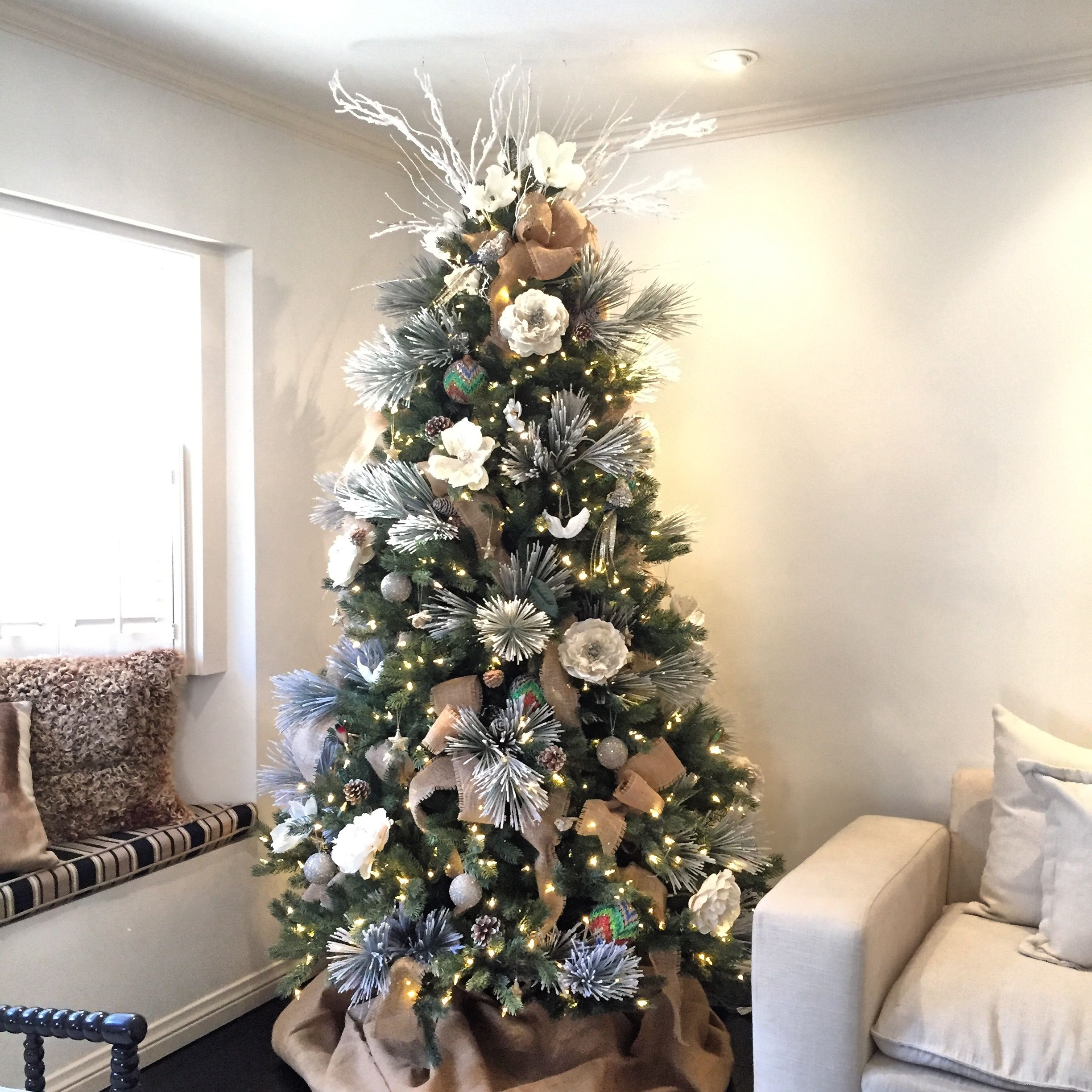 Christmas Tree Done By Floral Creations By Kristina