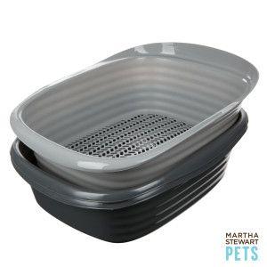 Martha Stewart Pets Sifting Litter Box Litter Boxes Petsmart Martha Stewart Pets Litter Box Dog Training Pads