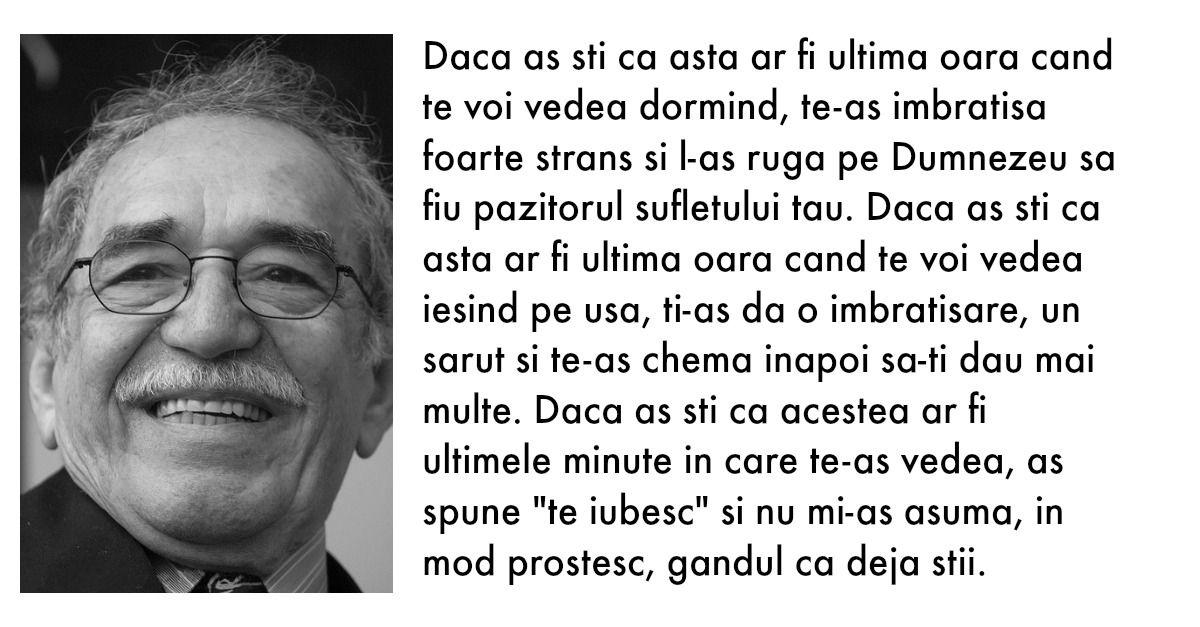 gabriel garcia marquez citate Cele mai frumoase citate ale lui Gabriel Garcia Marquez | CITATE  gabriel garcia marquez citate