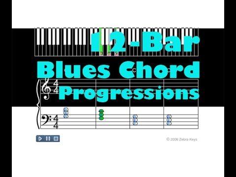 12 Bar Blues Chord Progression Music Pinterest 12 Bar Blues