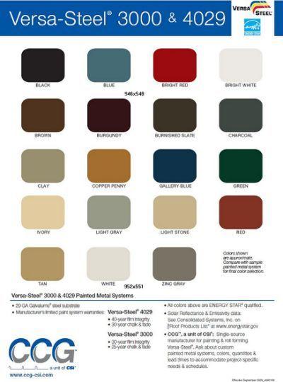 Best Pole Barn Metal Siding Colors … Metal Siding Colors 400 x 300