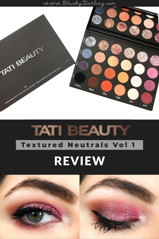 Tati Beauty Textured Neutrals Vol.1 Palette in 2020
