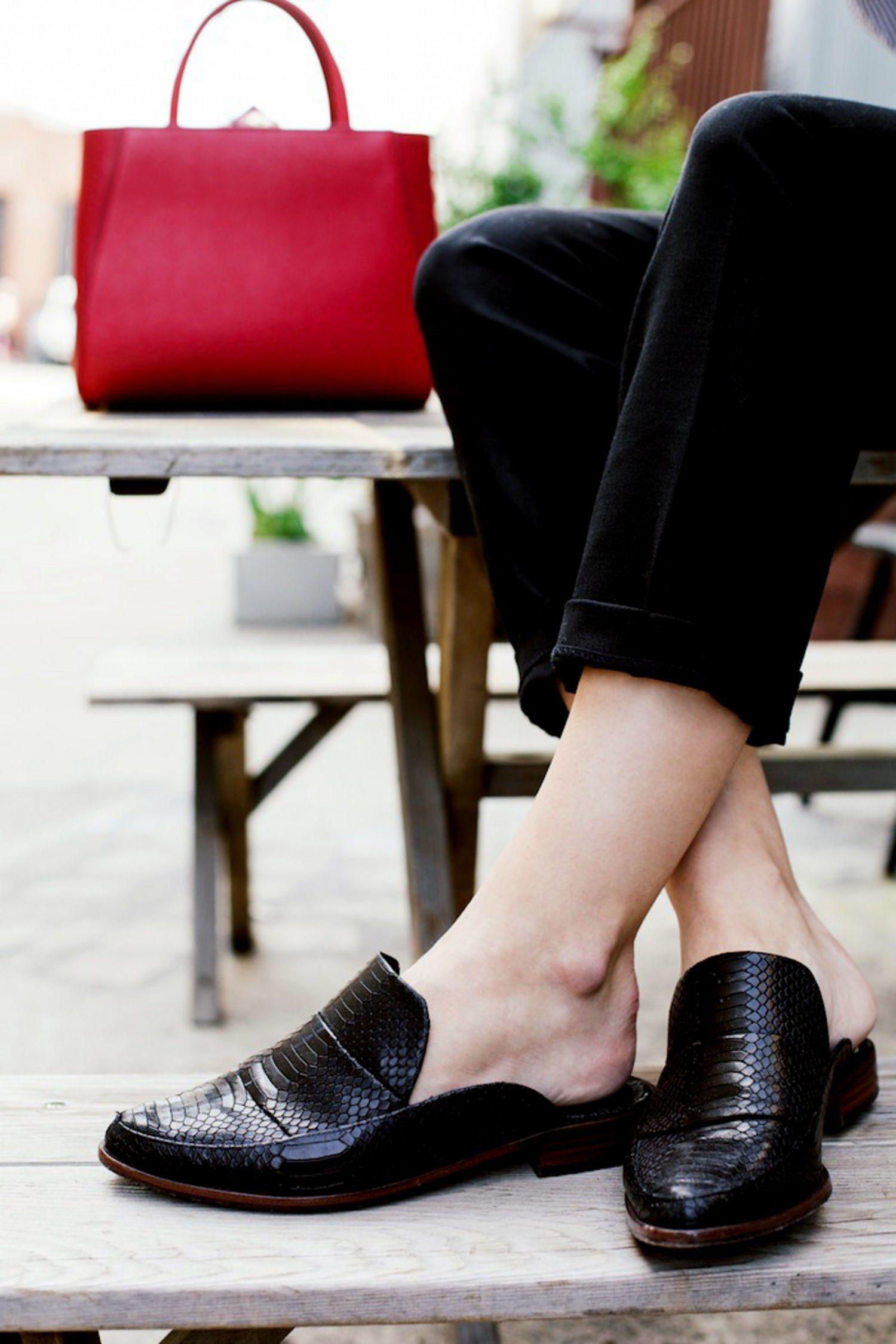 ea843ffa749 How to Wear Slipper Mules