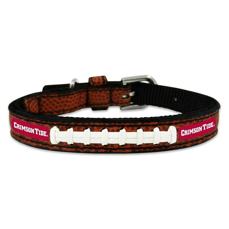 GameWear Alabama Crimson Tide Classic Leather Collar, Multicolor