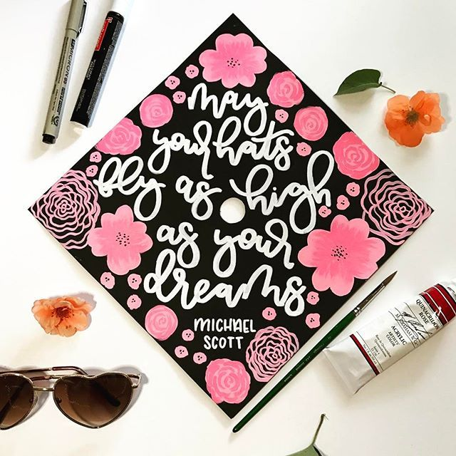 Michael Scott Quotes On A Grad Cap Ultimate Win The Office Is