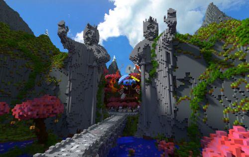 ibuildpixels:  Sunfury's Snapcraft server spawn renders