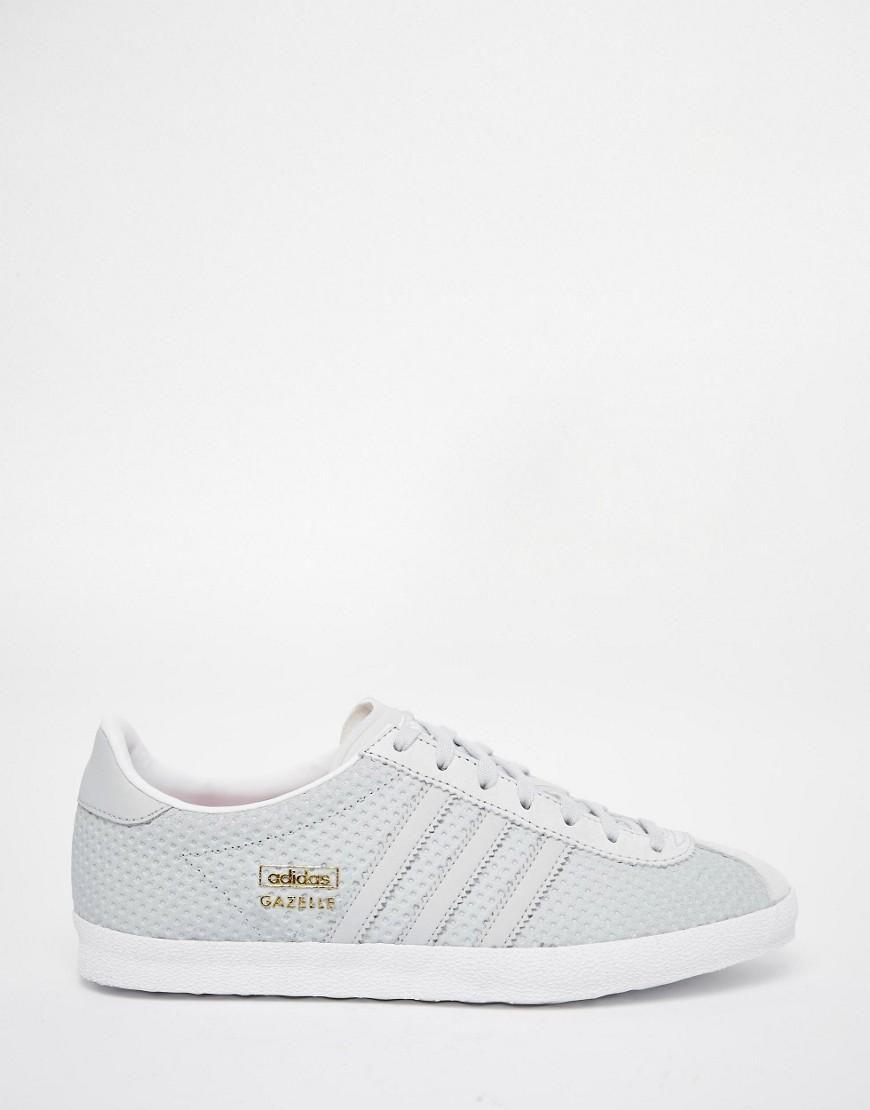adidas | adidas Originals – Gazelle – Transparente, graue Sneakers bei ASOS