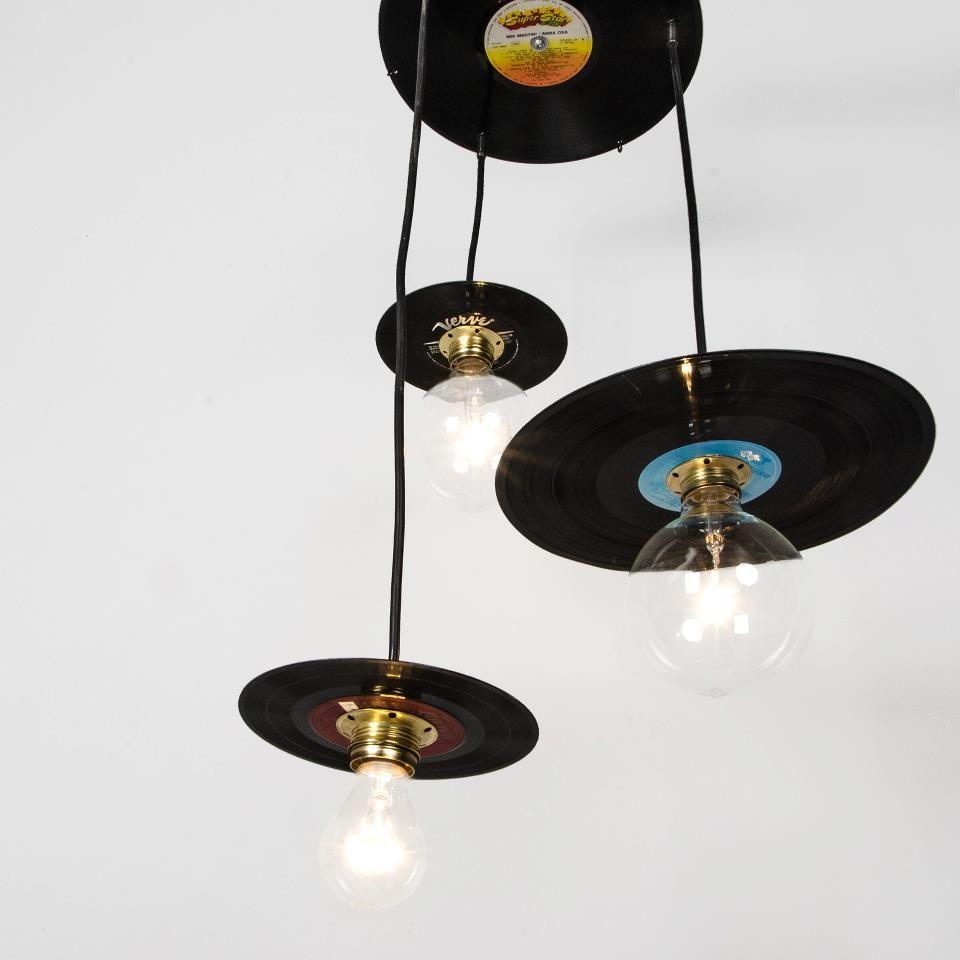 Recicla discos de vinilo   LIGHTS   Pinterest   Discos de vinilo ...