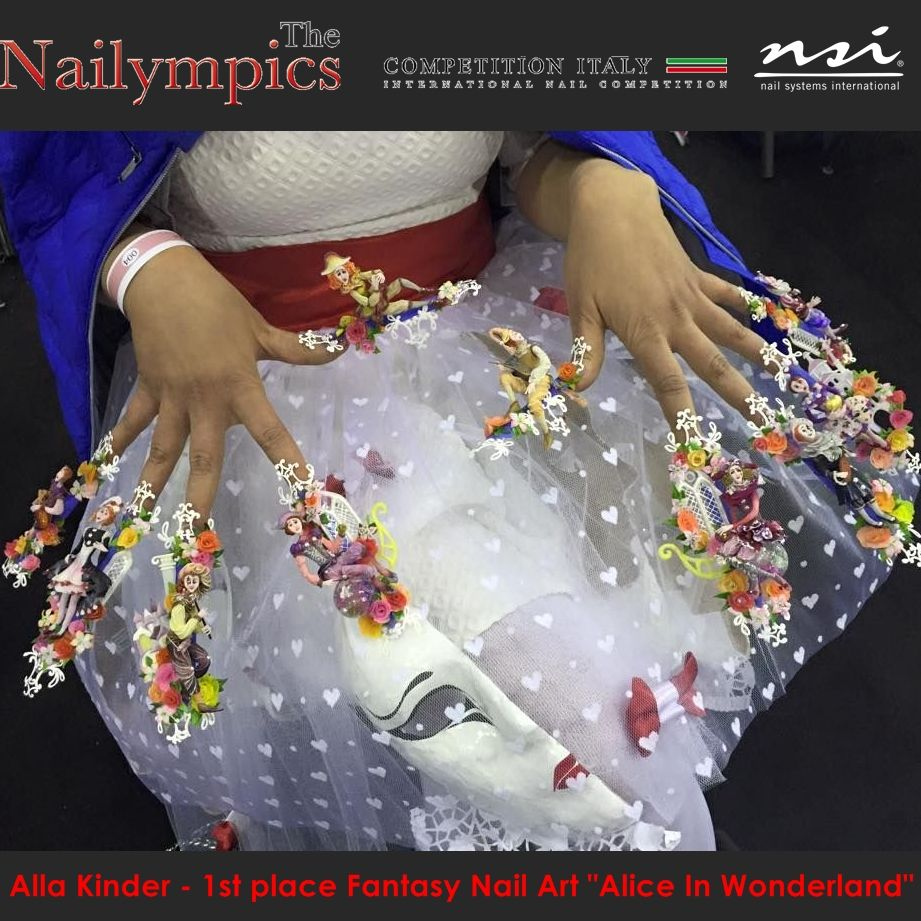 Pin by NSI Nails Eastern Europe on NSI NAILS - Competitions ...