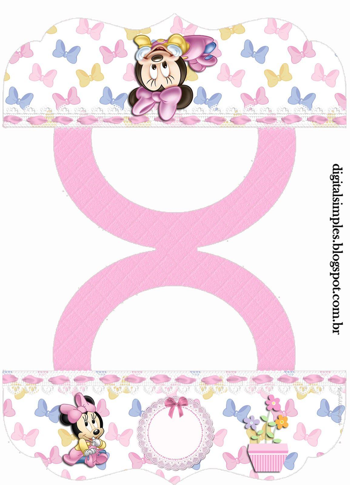 Kit de personalizados minnie mouse baby para imprimir - Candy candy diva futura ...