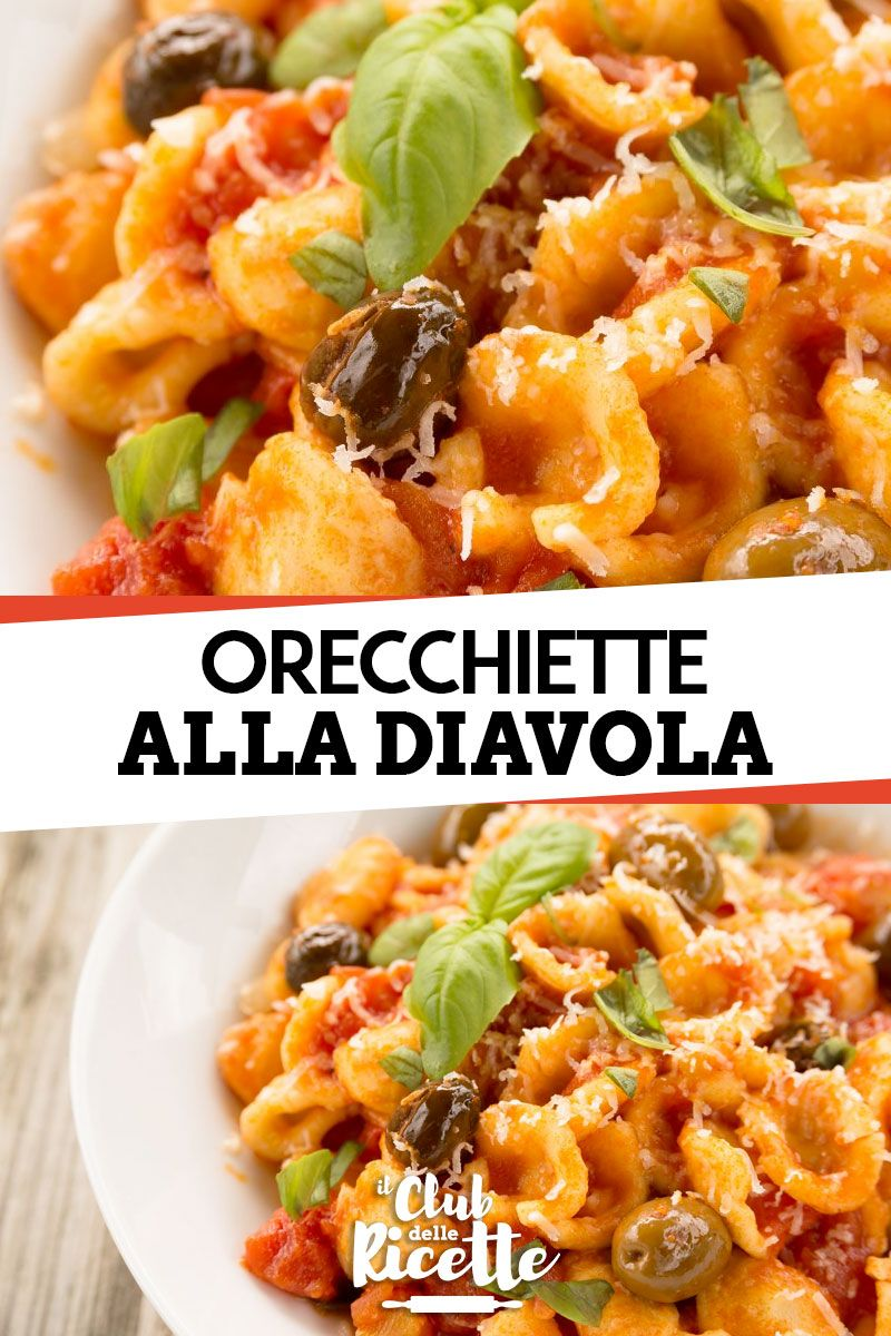 Ricette Orecchiette
