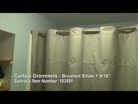 Http Www Sailrite Com Curtain Grommets Brushed Silver 1 9 16