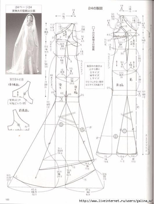 Маленькое черное платье, шаблоны и инструкции - | tallas y patrones ...