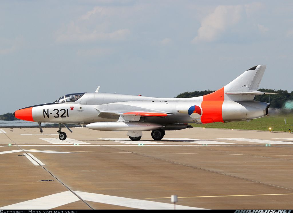 Hawker Hunter T8C temporarly based at Gilze due the runway constructions at Leeuwarden AFB.
