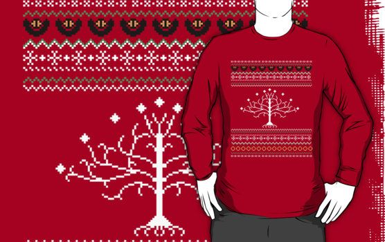 Lord Of The Rings Christmas Jumper.Pin On Dreaming Of A White Christmas