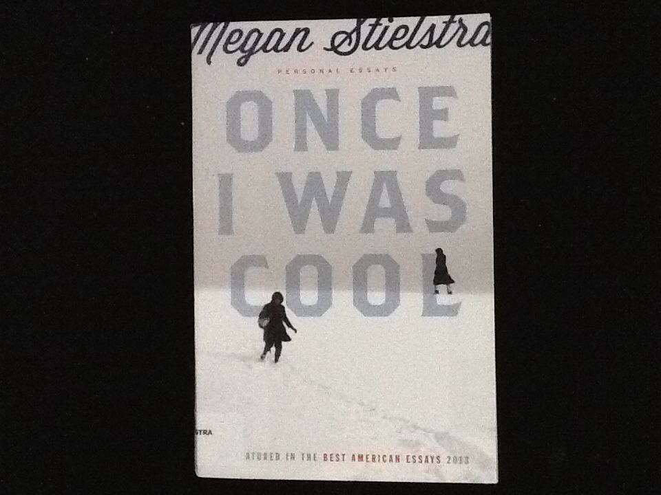 Once I Was Cool by Megan Stielstra - I loved reading these personal essays by an author/teacher/storyteller. She's a generous and sharing writer, and the wonderful title leads to great reading.