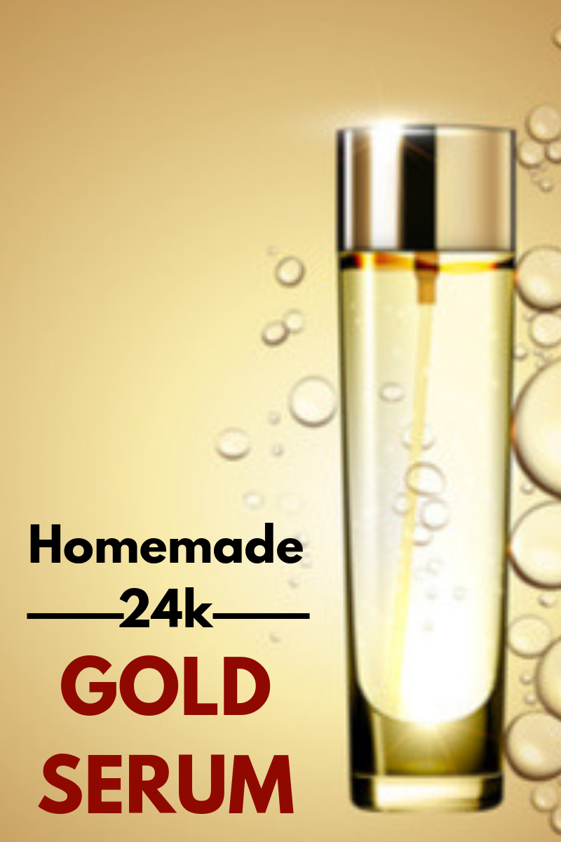 Homemade 24k Gold Serum Use This And Your Skin Will Shine Like Gold Serum Skinglow Glowingskin Beautiful Serum Beauty Tips With Honey How To Grow Eyebrows