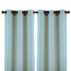 Blue Raw Silk Curtain Panel Set Of 2 At Kirkland S Blue