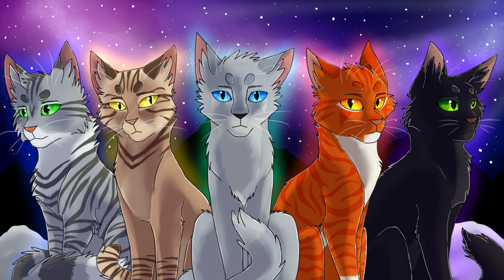 the first clan leaders by silverzoul warriors cats