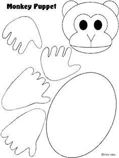 Monkey Body Template