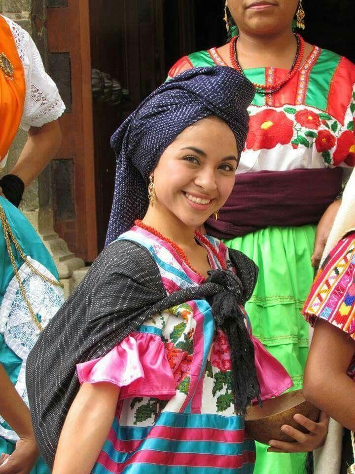 Resultado de imagen para Huautla de Jiménez vestimenta