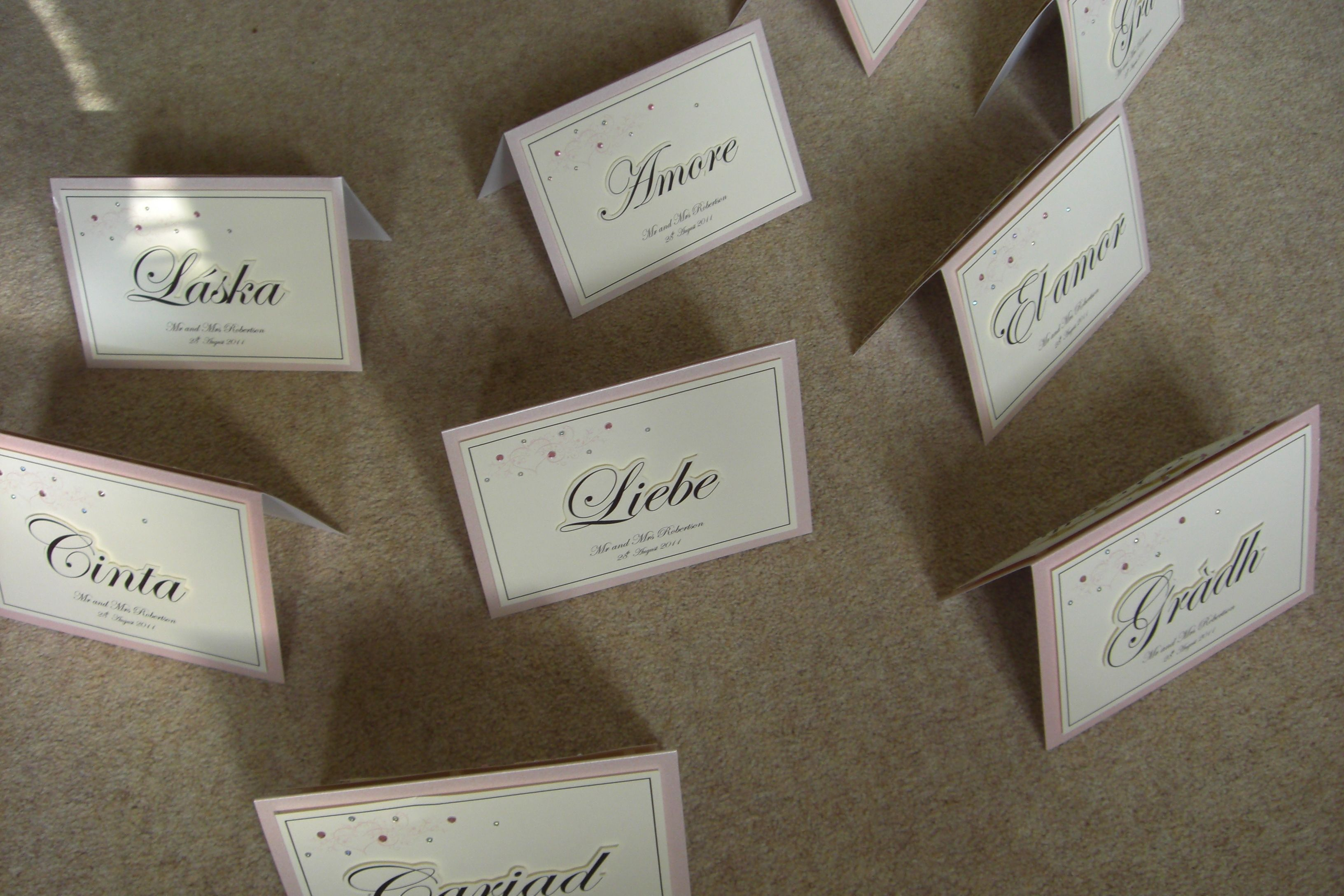 Table Names Flash Wedding Planning Discussion Forums