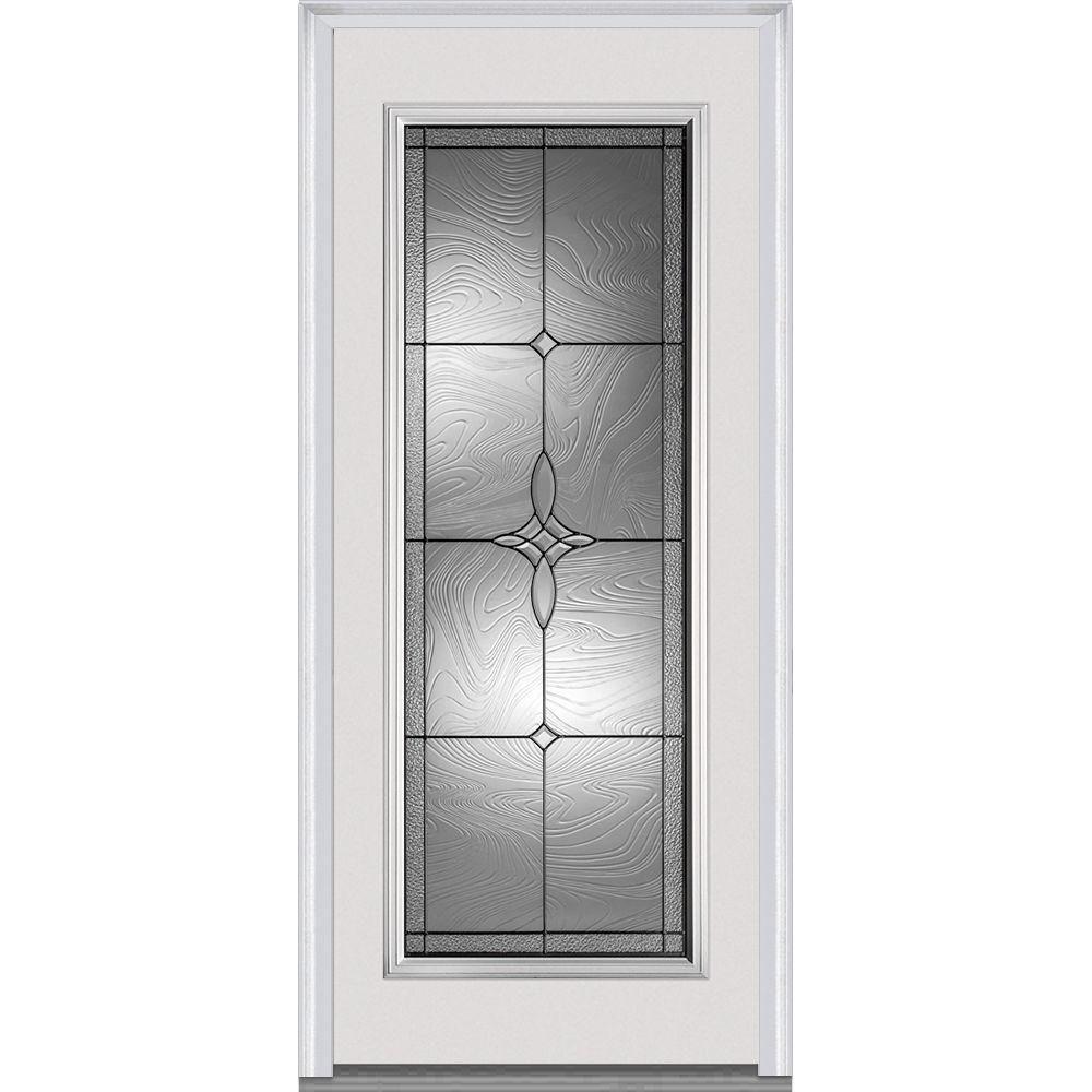 Mmi Door 32 In X 80 In Lenora Right Hand Decorative Full Lite