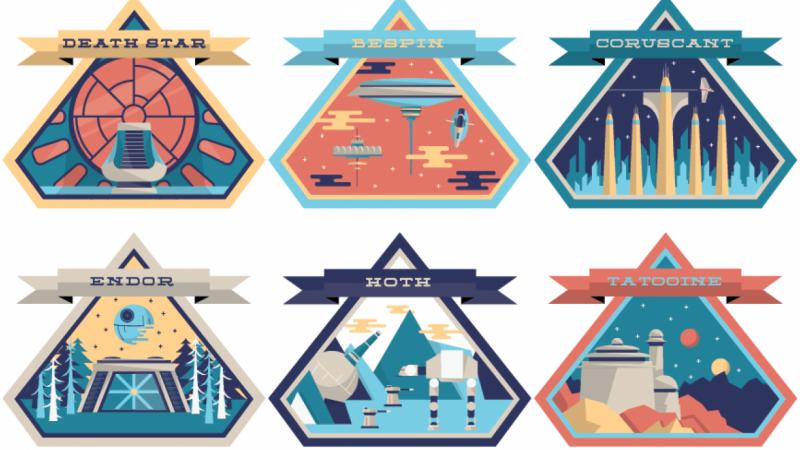 Star Wars Icons Badges Star Wars Icons Star Wars Art Star Wars Design