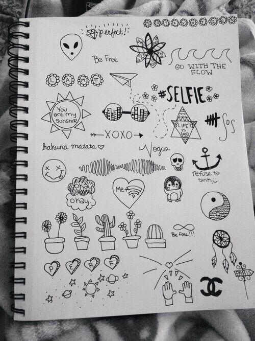 Image Via We Heart It Doodle Grunge Pale Tumblr Doodle