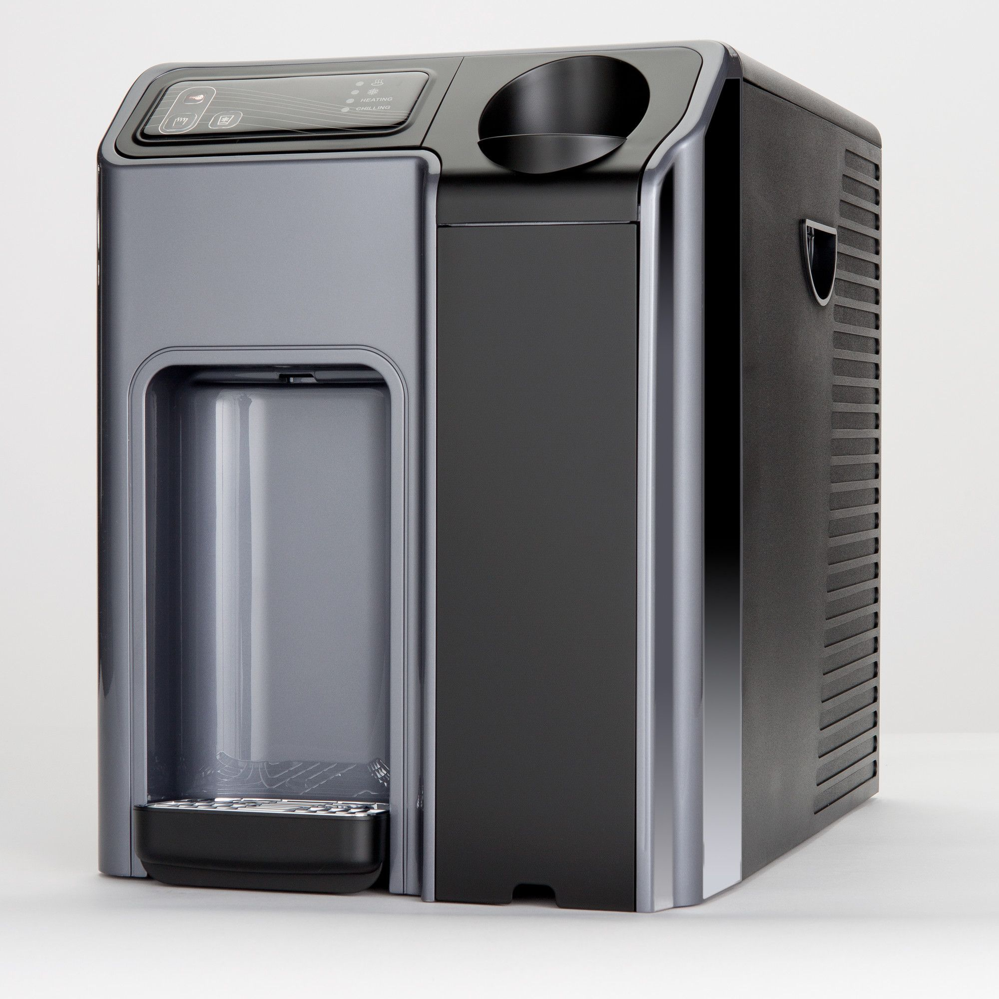 Hot and Cold Countertop Water Cooler in Silver and Black | Products ...