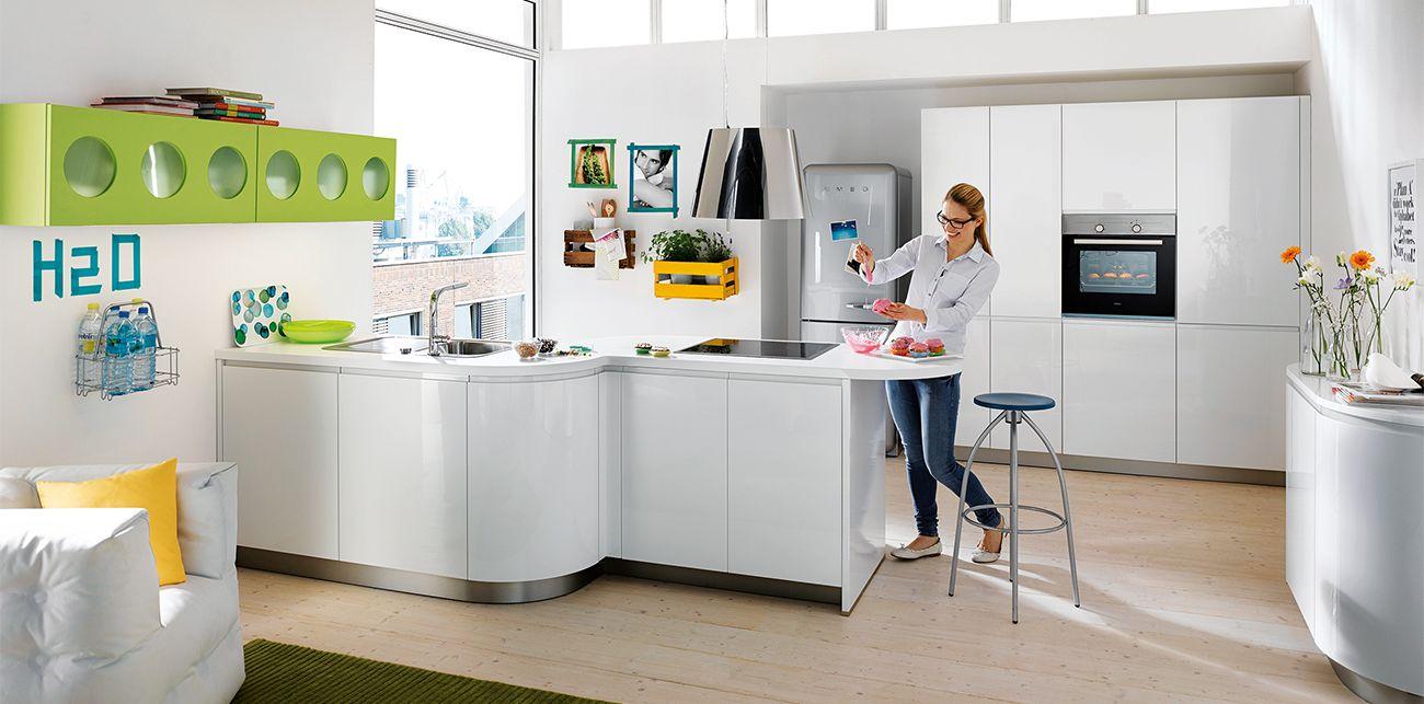 Ideen für küchenschränke ohne türen glosskitchenideas schuller german kitchen  alea germankitchens
